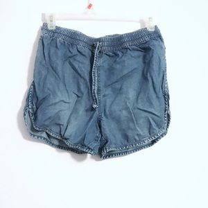 Juicy Couture Denim Dolphin Shorts